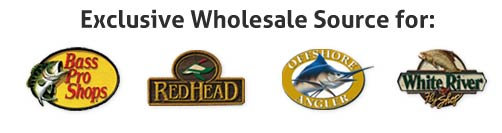 Exclusive Wholesale Source for: Bass Pro Shops, RedHead, Offshore Angler and White River Fly Shop
